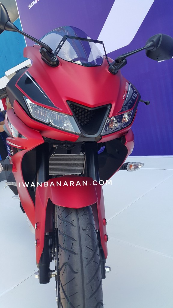 Yamaha R Version  Rear Tyre Size