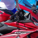 Yamaha YZF R15 Version 3 facelift red decals
