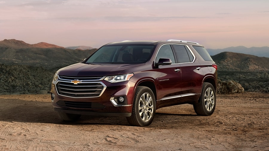 New Chevrolet Traverse 2018