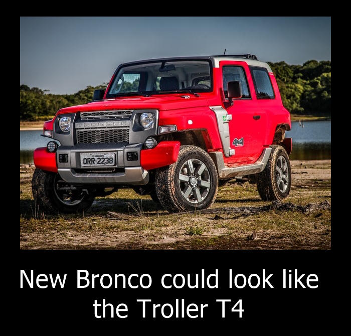 No 2018/2019 Ford Bronco but yes for 2020 [Confirmed] - Autopromag
