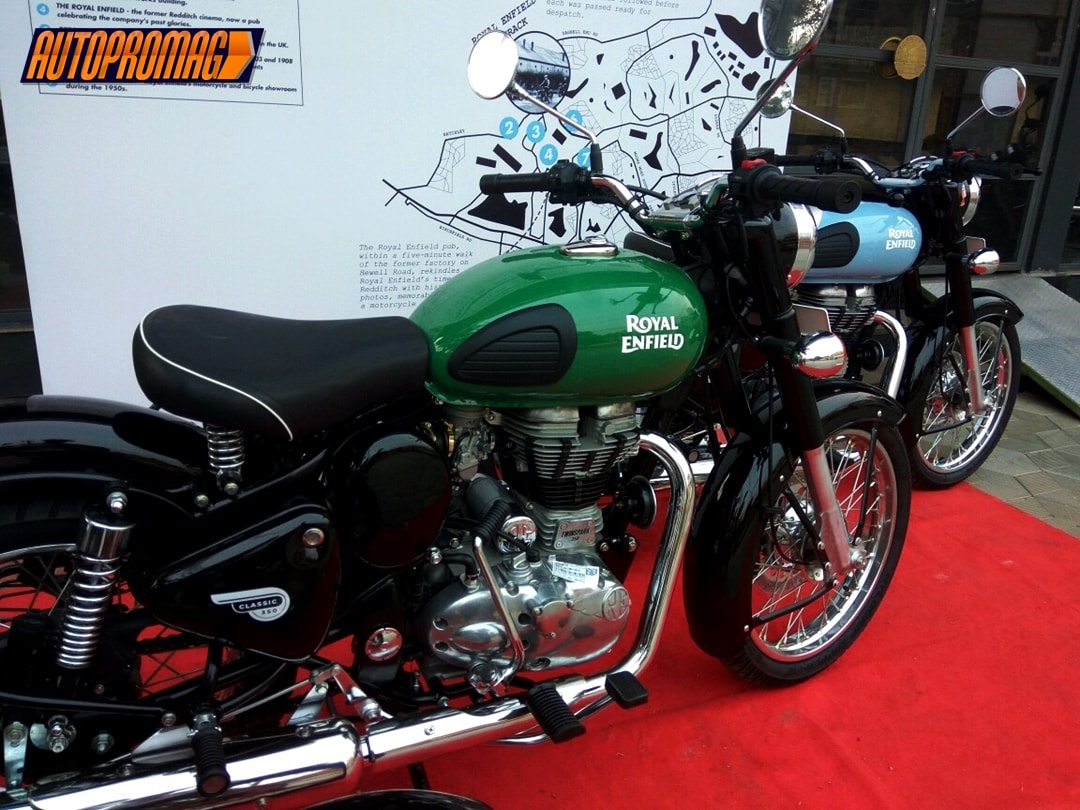 Royal Enfield Redditch Classic 350 India