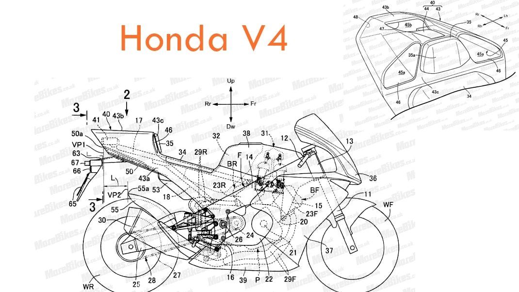 HOnda new superbike V4