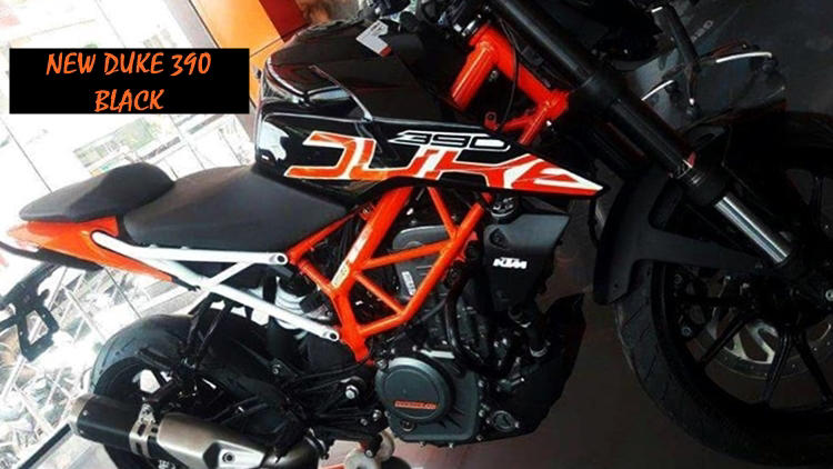 2018 KTM Duke 390 black