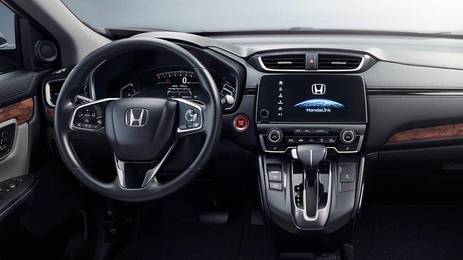 Honda CR-V 2017 cabin