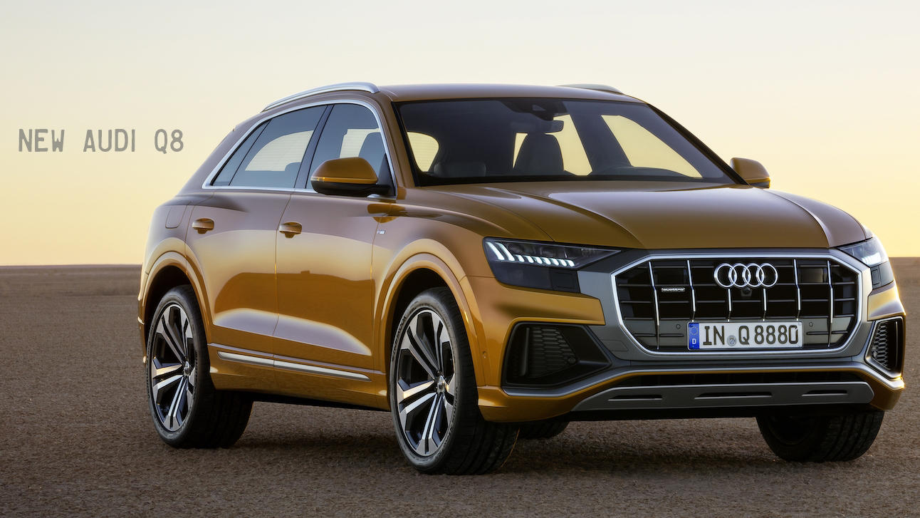 2019 Audi Q8 revealed, will go on sale in US next year