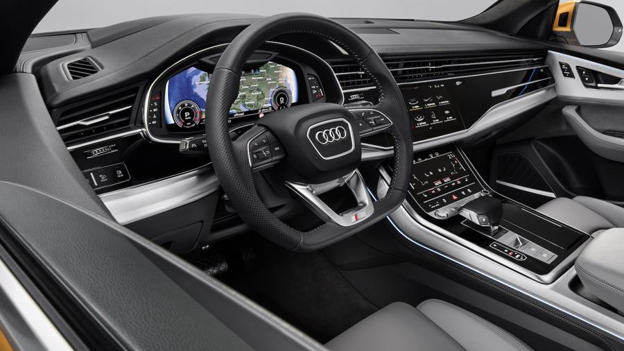 New Audi Q8 interior