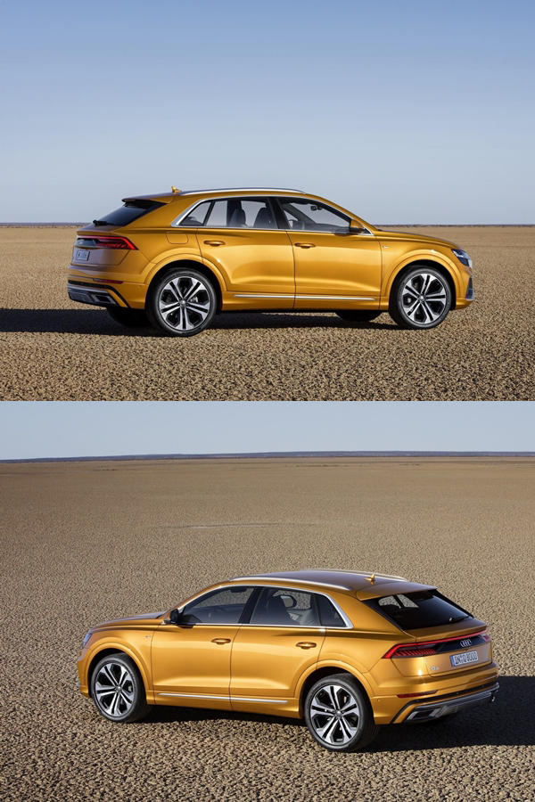 New Audi Q8 ride