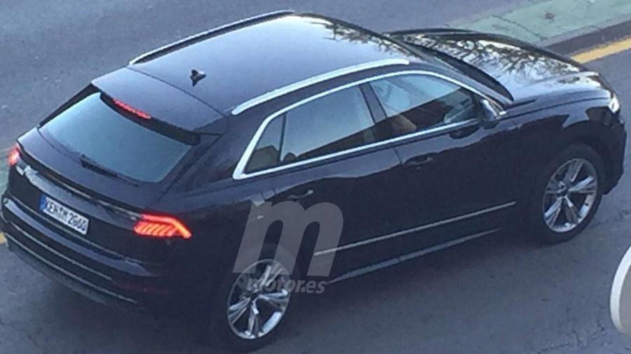 New Audi Q8 side
