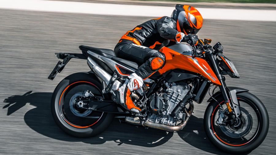 New KTM Duke 790 side
