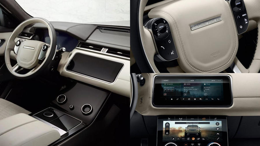Range rover velar price launch date exterior interior for Interno velar
