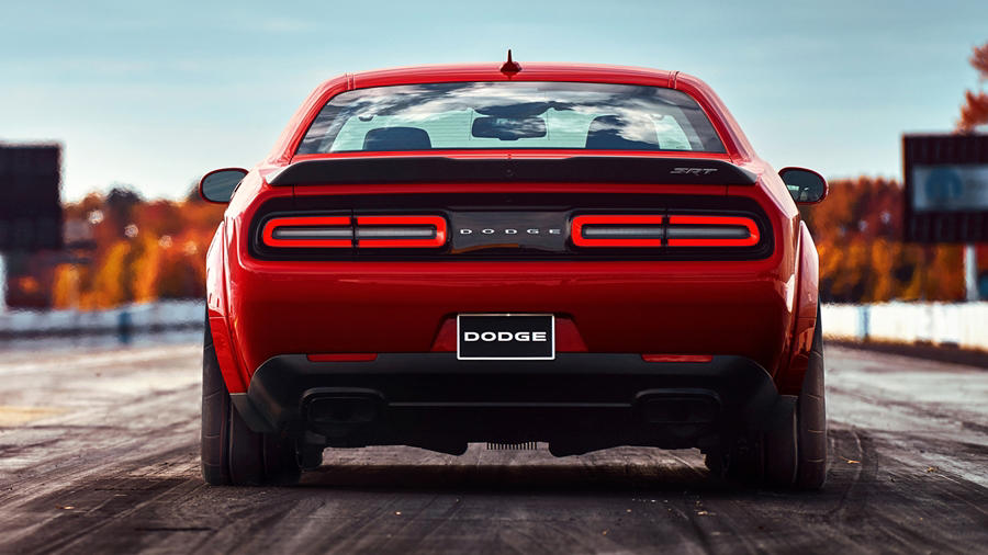 Dodge Challenger Srt Car Cover