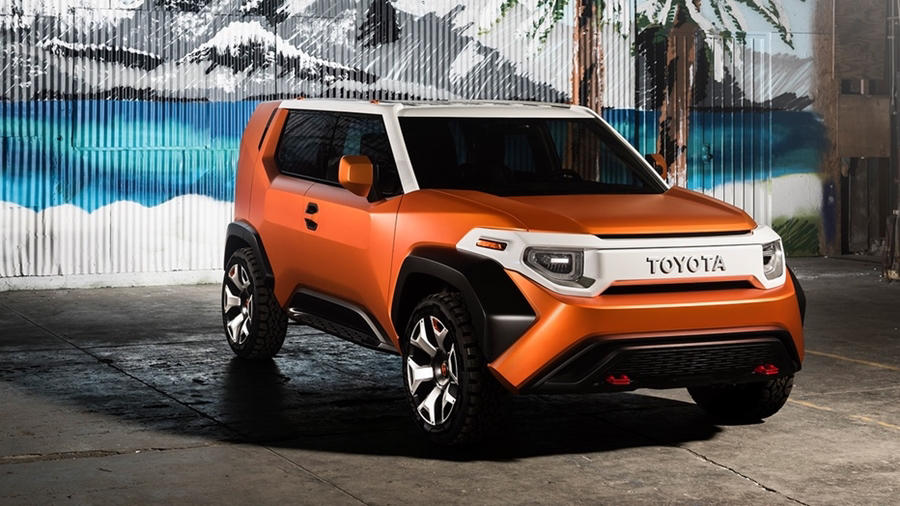 Toyota FT4X Crossover