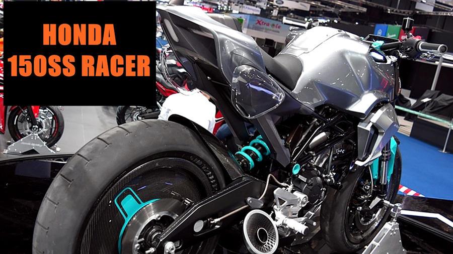 Honda 150SS Racer (Next-Gen Grom) details