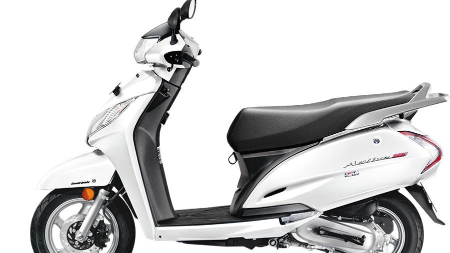 New Honda Activa 125 white