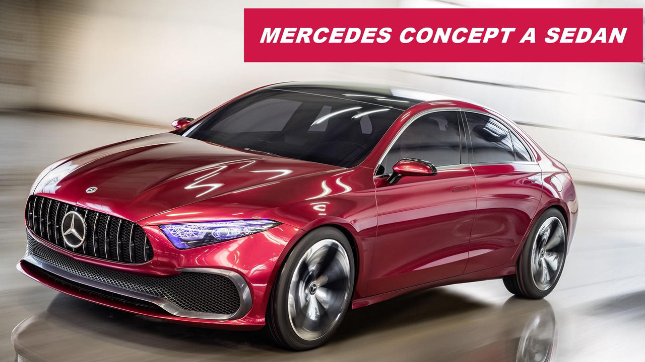 mercedes concept a sedan price release specs autopromag. Black Bedroom Furniture Sets. Home Design Ideas
