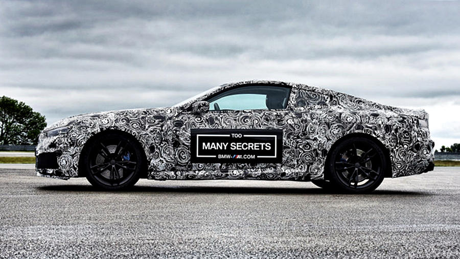 BMW M8 features