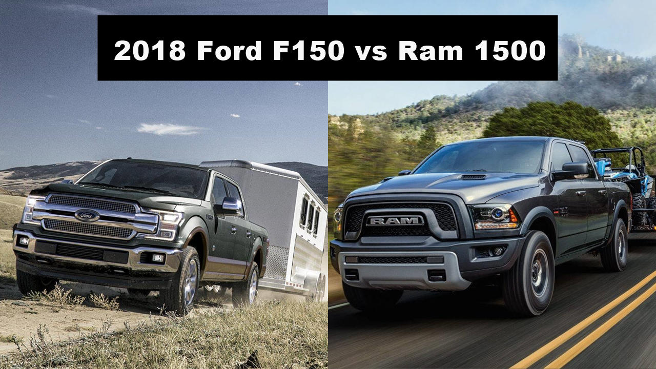 2018 Ford F150 Vs Ram 1500 Compare Trucks Autopromag Usa