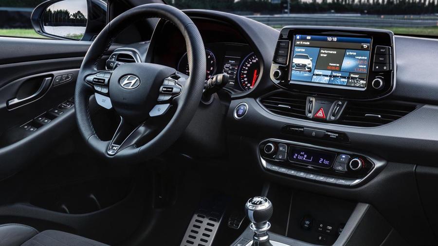 Hyundai i30 N interior features