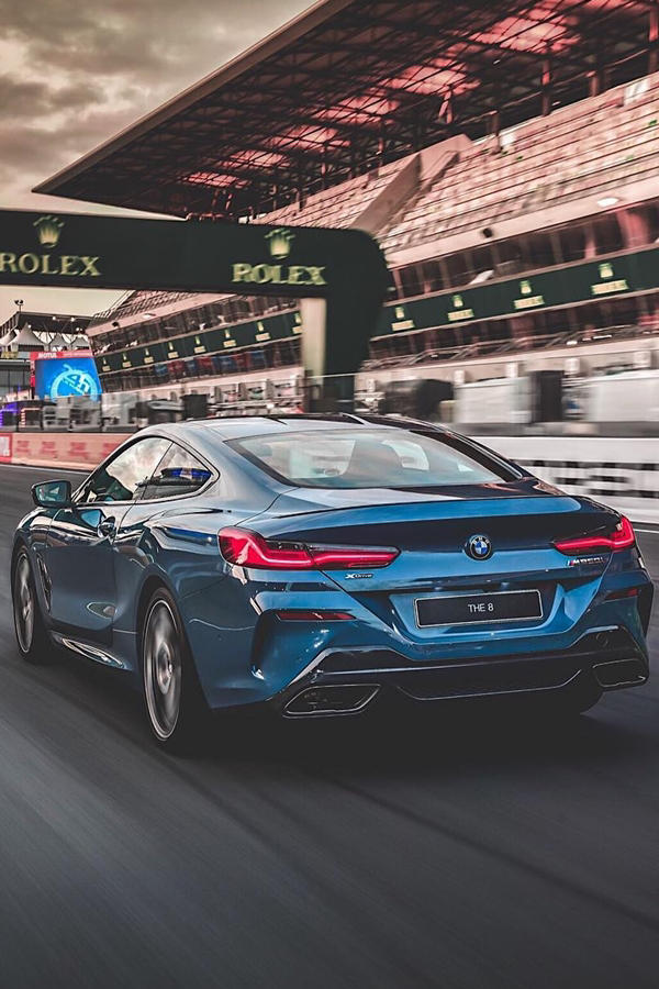 New BMW 8 Series track day