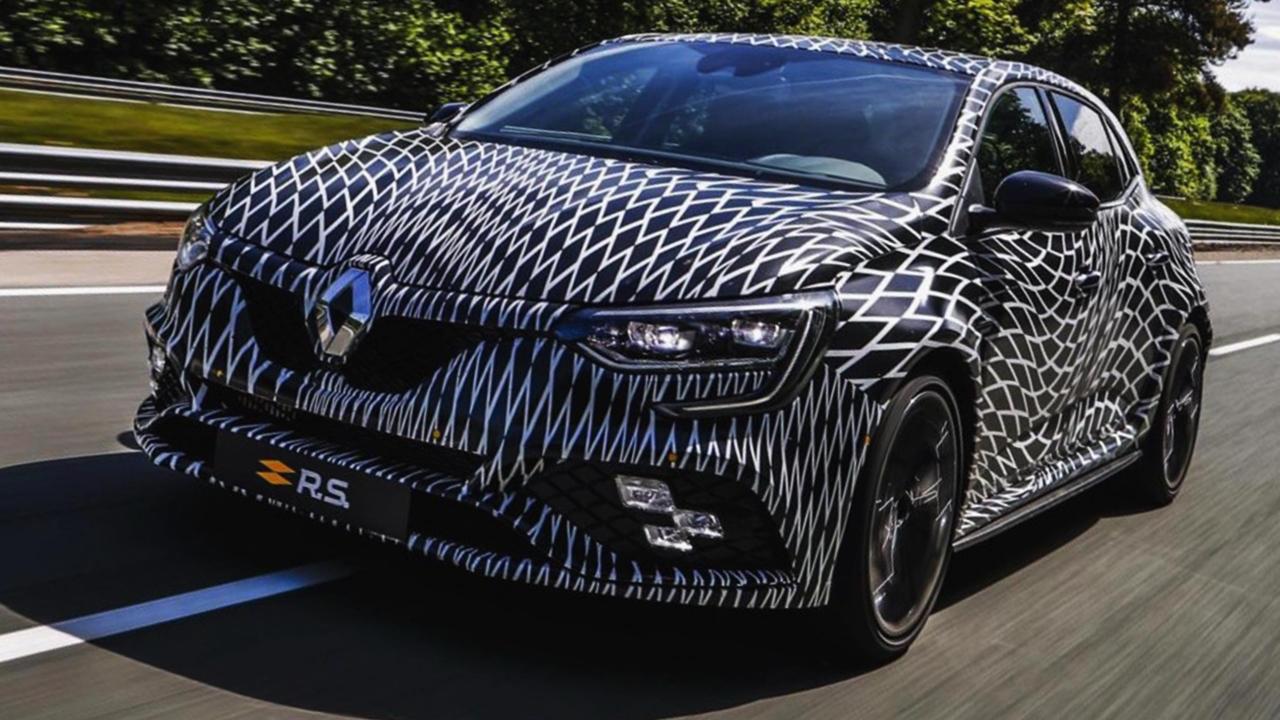 2018 Renault Megane RS sport