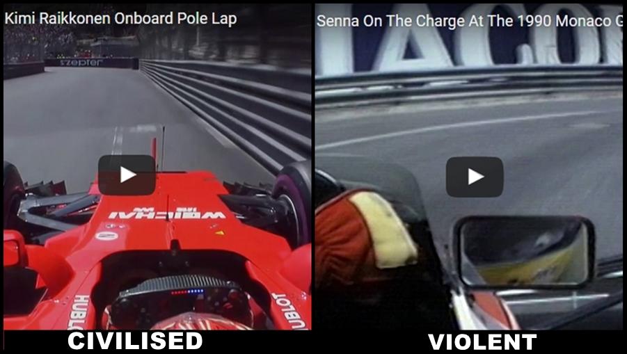 Räikkönen vs Senna