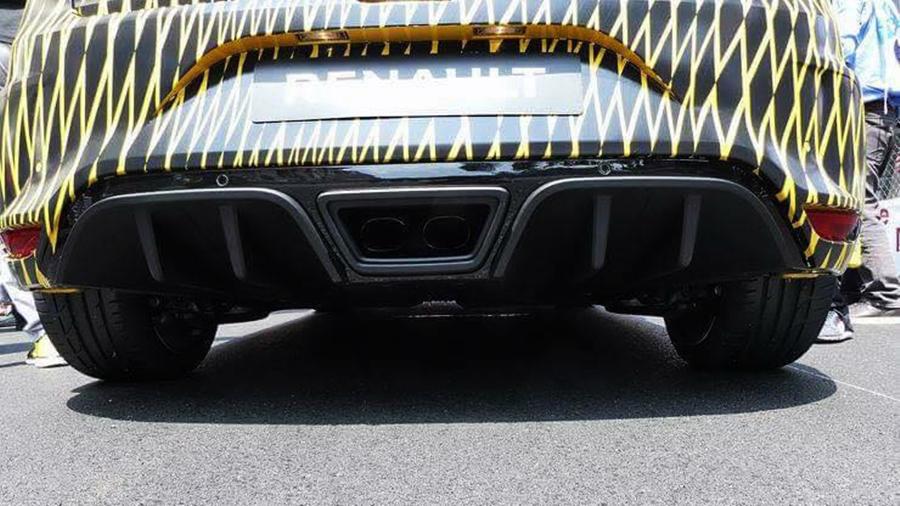 Megane RS rear