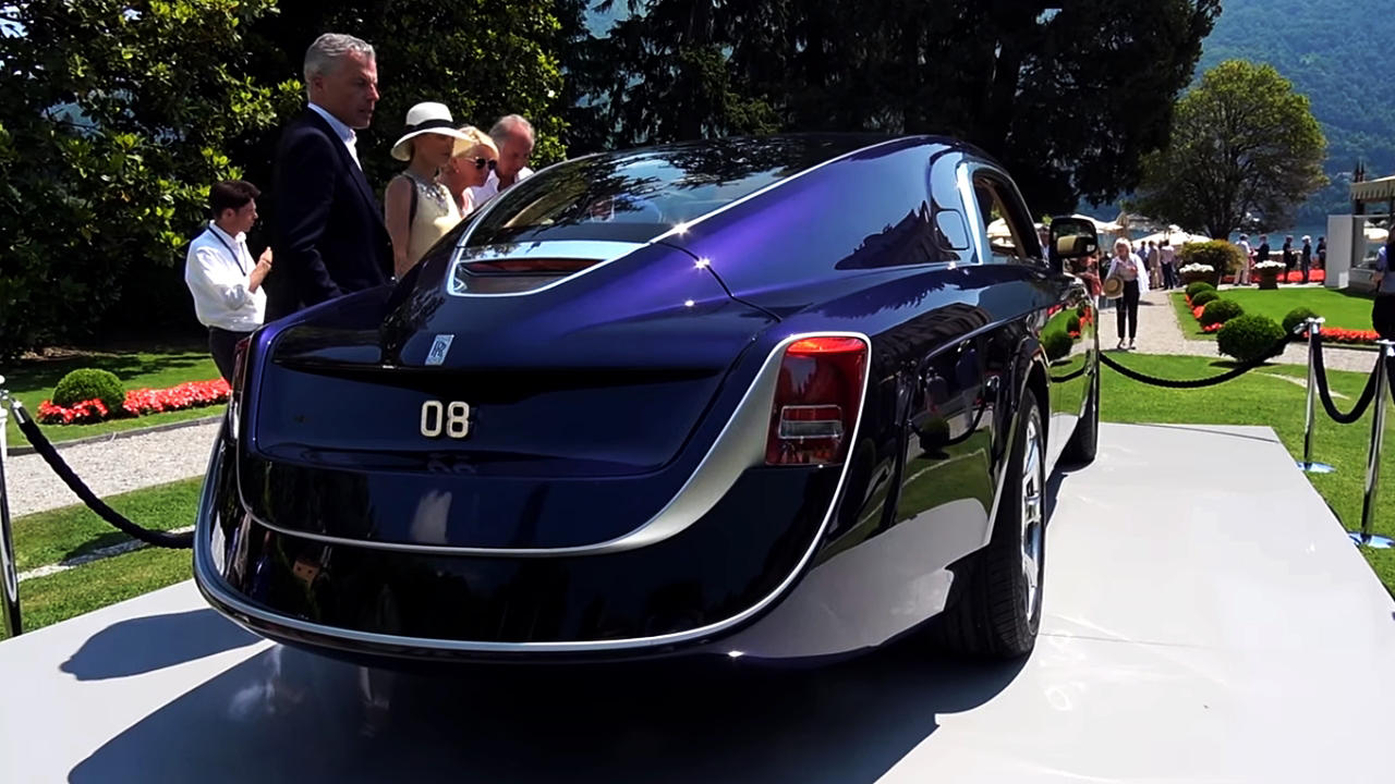 Rolls Royce Sweptail Bespoke Most Expensive New Car In