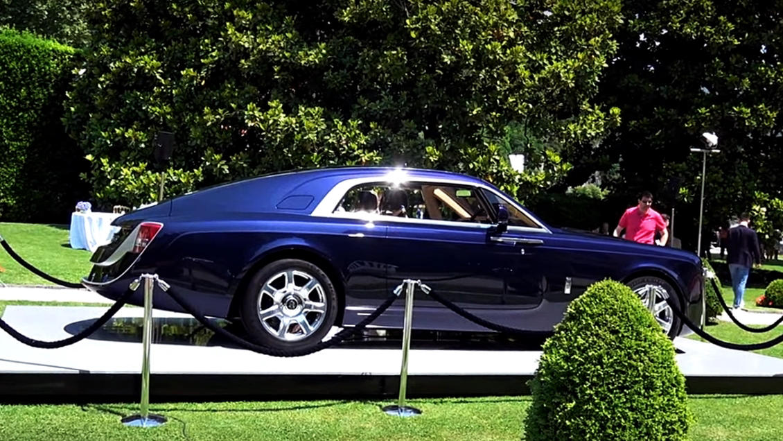 Most expecsive car in the world Rolls Royce