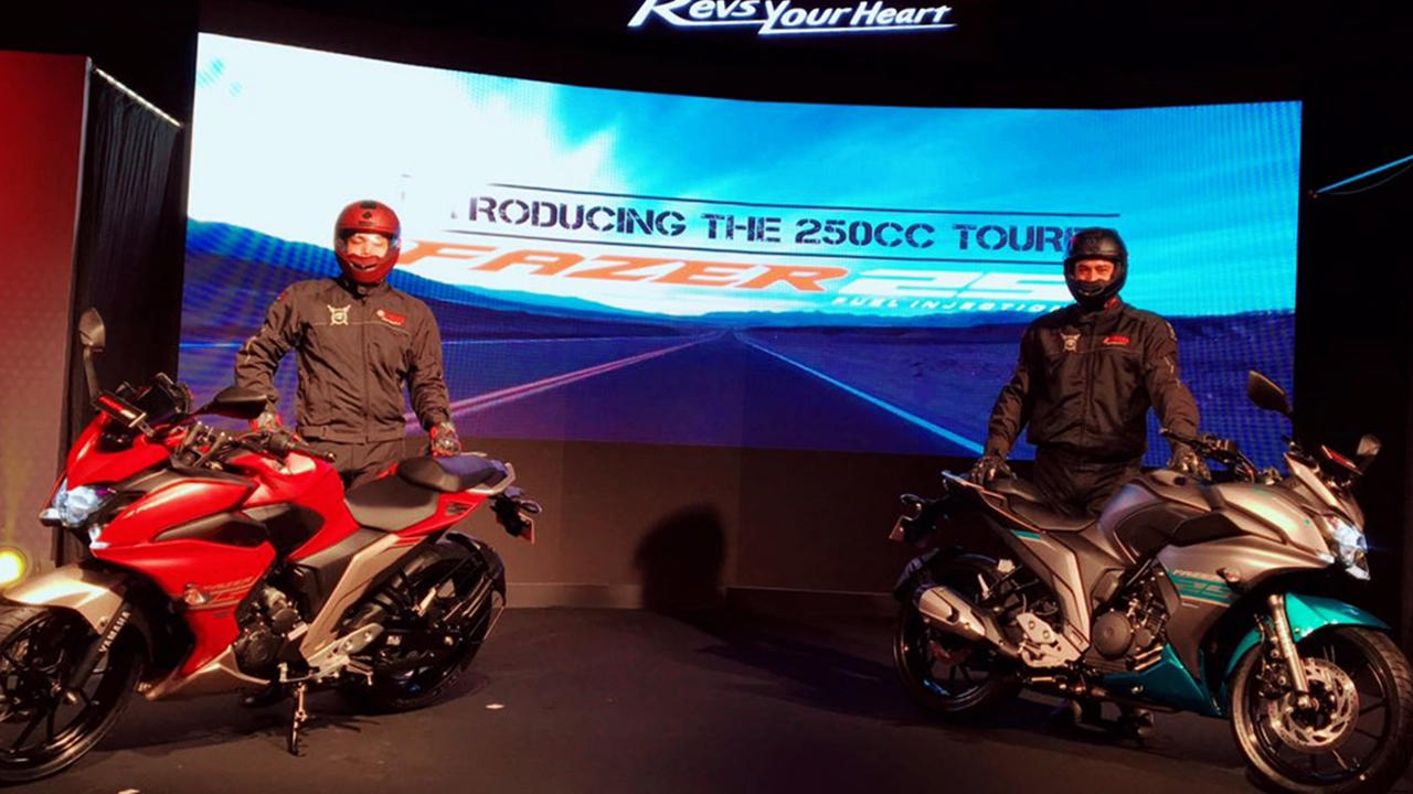 Yamaha Fazer 25 launched – No R15 V3 for India?