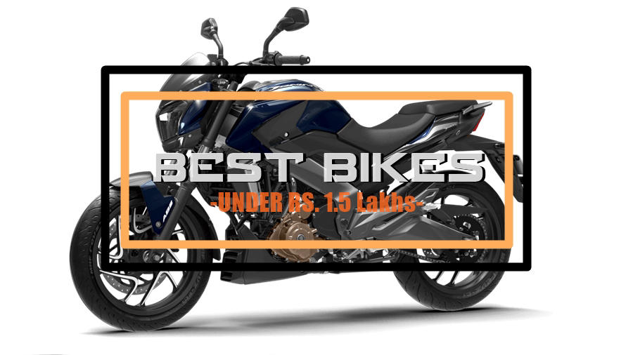 Top 5 bikes under Rs. 1.5 lakhs