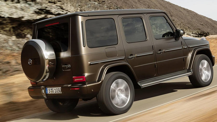 New Mercedes G Wagon 2019
