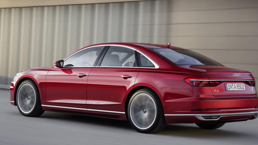 New Gen Audi A8 rear