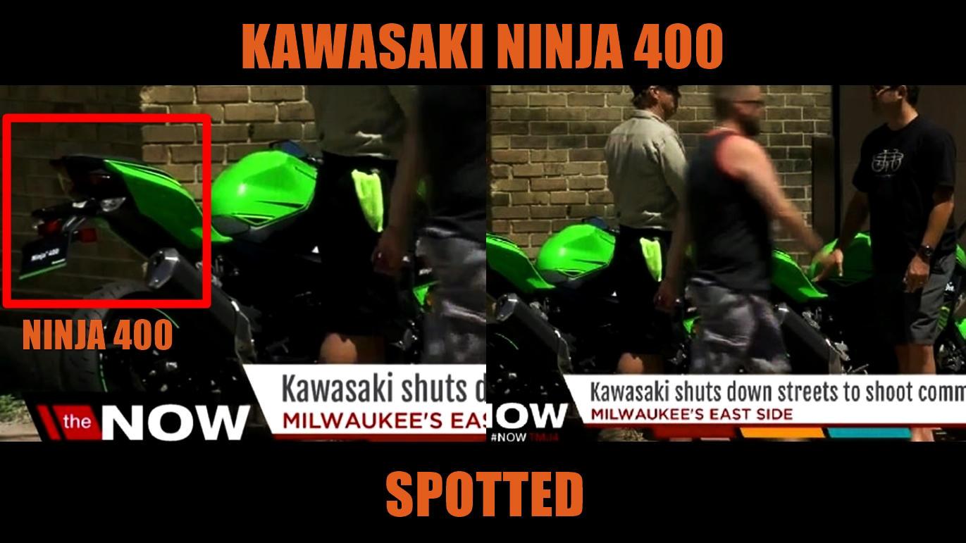 Ninja 400 in USA