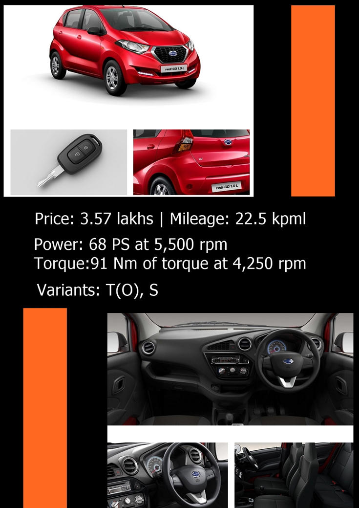 Datsun Redi GO 1.0 news