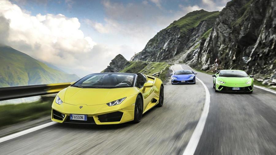 Lamborghini Huracan video in Romania