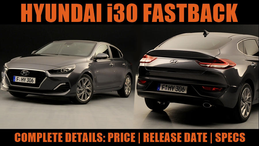 New i30 fastback 2018