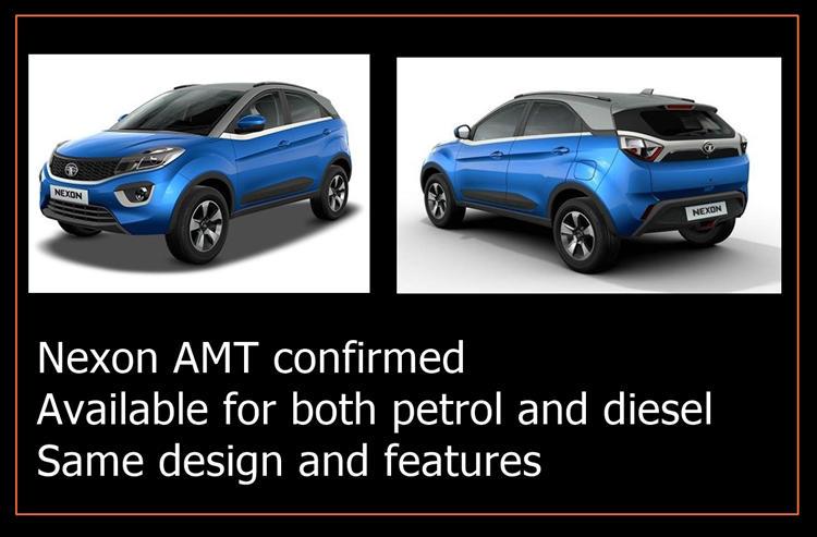 Tata Nexon AMT news