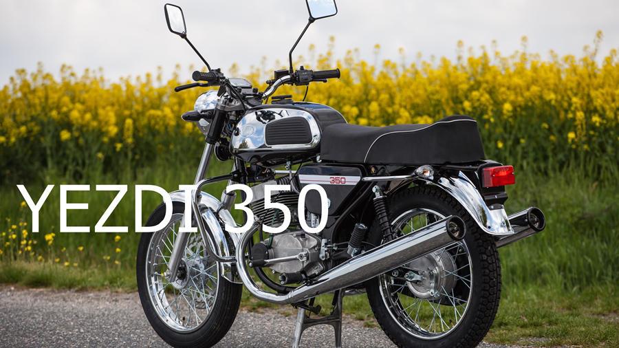 Yezdi 350 India