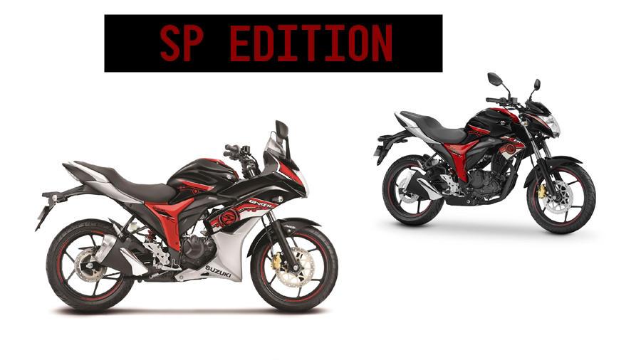Suzuki Gixxer SP editions