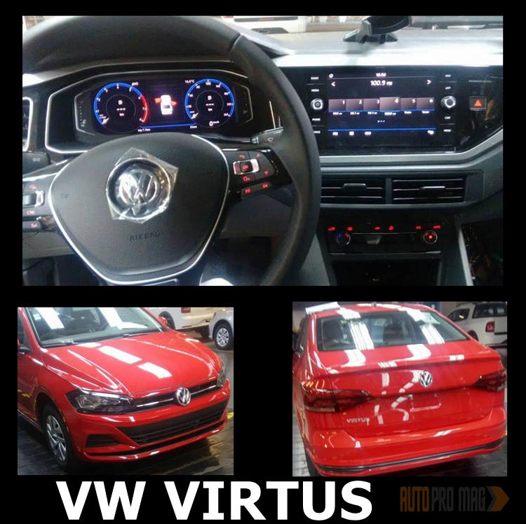 VW Virtus Interior