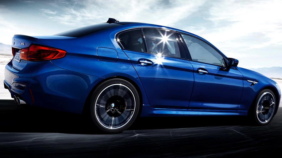 2018 BMW M5 & its first edition debuts [price, release ...