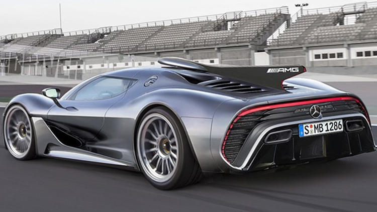 Mercedes Project 1 rear