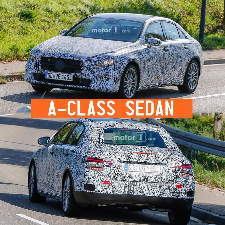 New Mercedes A-Class Sedan 2018