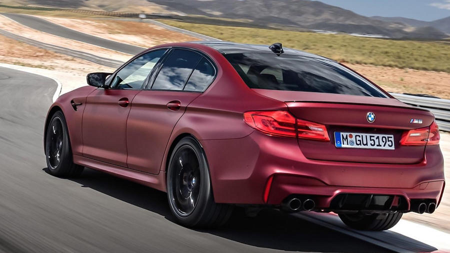 2018 bmw m5 its first edition debuts price release. Black Bedroom Furniture Sets. Home Design Ideas