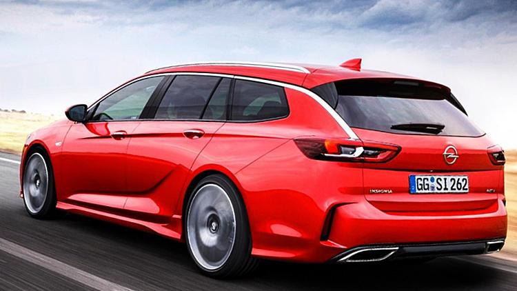 Vauxhall Insignia GSi wagon sports tourer