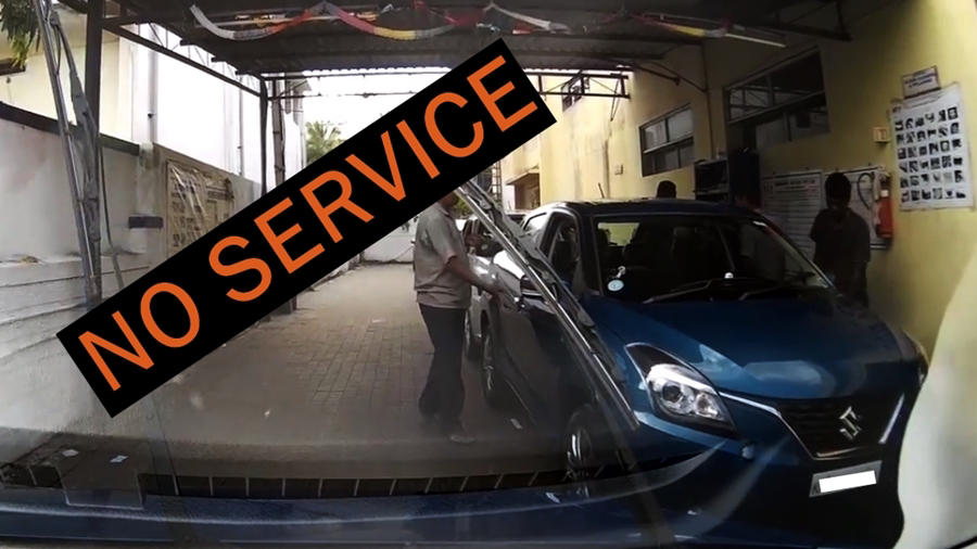 Baleno 2nd free serive no service