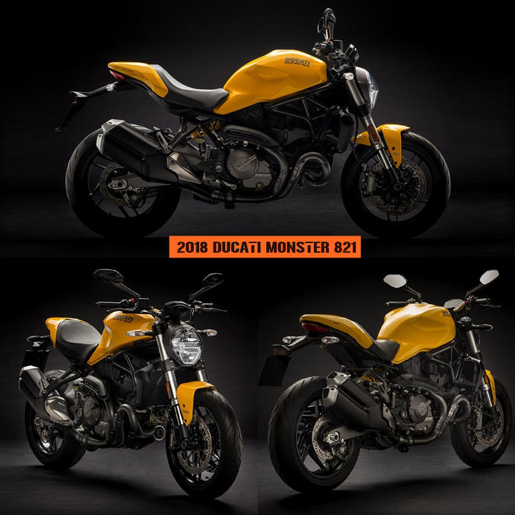 2018 ducati monster 821 is a beauty price release specs autopromag. Black Bedroom Furniture Sets. Home Design Ideas