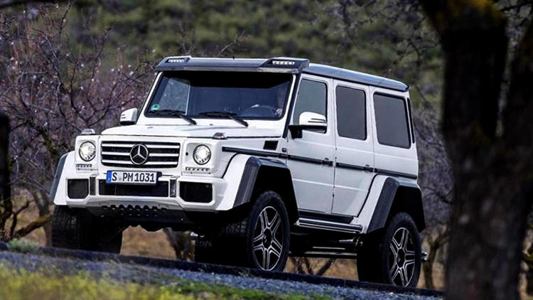 Mercedes G500 4×4² to be discontinued by end of this month