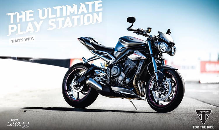 Triumph Street Triple RS India