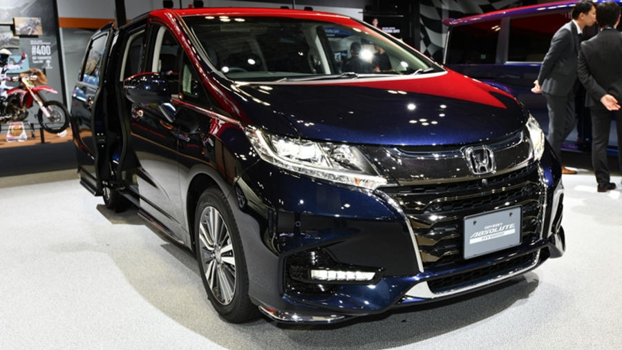 2019 honda odyssey hybrid awd coming late spring price release. Black Bedroom Furniture Sets. Home Design Ideas